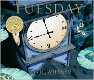 Tuesday by David Wiesner: Book Cover