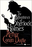 The Adventures of Sherlock Holmes by Arthur Conan Doyle: NOOK Book Cover