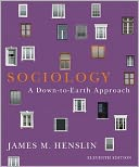 Sociology by James M. Henslin: Book Cover