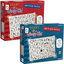 Diary of a Wimpy Kid 200-piece Puzzles Set by Pressman Toy Corp: Product Image