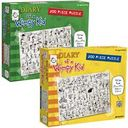 Diary of a Wimpy Kid 200-piece puzzle 2-pack by Pressman: Product Image