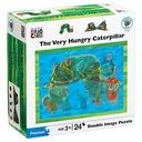 Eric Carle Double Image Puzzle: Caterpillar to Butterfly by University Games: Product Image