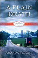 A Plain Death by Amanda Flower: Book Cover