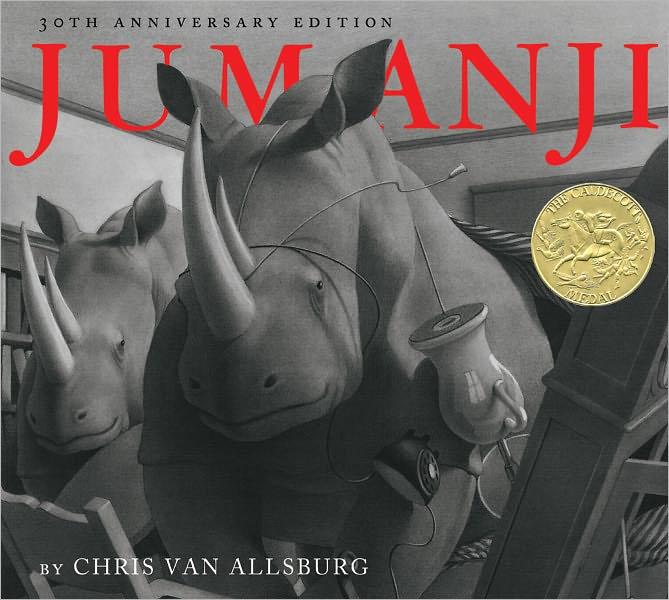 تصویرسازی کتاب جومانجی اثر کریس ون آلس بورگ