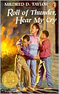 Roll of Thunder, Hear My Cry by Mildred D. Taylor: Book Cover