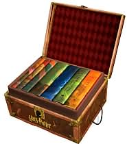 Harry Potter Hardcover Boxed Set (Books 1-7) by J. K. Rowling: Book Cover