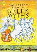 D'Aulaires' Book of Greek Myths by Edgar Parin d'Aulaire: Book Cover