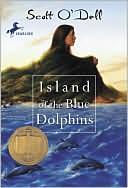 The Island of the Blue Dolphins by Scott O'Dell: Book Cover