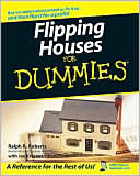 Flipping Houses For Dummies by Ralph R. Roberts: Book Cover