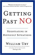 Getting Past No by William Ury: Book Cover