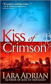 Kiss of Crimson (Midnight Breed Series #2) by Lara Adrian: Book Cover