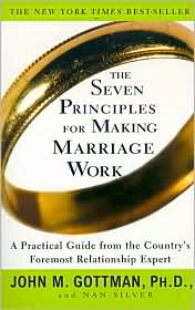 The Seven Principles for Making Marriage Work book cover