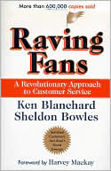 Raving Fans by Ken Blanchard: Book Cover