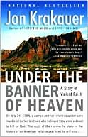Under the Banner of Heaven by Jon Krakauer: Book Cover