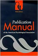 download Publication Manual of the American Psychological Association, Fifth Edition book