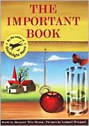 The Important Book by Margaret Wise Brown: Book Cover
