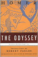 The Odyssey (Fagles translation) by Homer: Book Cover