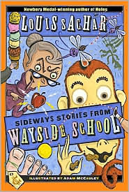 Sideways Stories from Wayside School by Louis Sachar: Book Cover