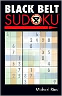 Black Belt Sudoku by Michael Rios: Book Cover