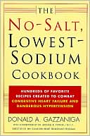 No-Salt, Lowest-Sodium Cookbook by Donald A. Gazzaniga: Book Cover