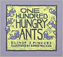 One Hundred Hungry Ants by Elinor J Pinczes: Book Cover