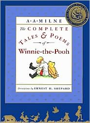 The Complete Tales and Poems of Winnie-the-Pooh by A. A. Milne: Book Cover