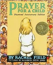 Prayer for a Child by Rachel Field: Book Cover