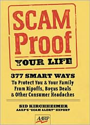 Scam-Proof Your Life by Sid Kirchheimer: Book Cover