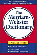 Merriam-Webster's Dictionary by ~ Merriam-Webster: Book Cover