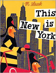 This is New York by Miroslav Sasek: Book Cover