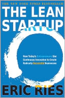 The Lean Startup by Eric Ries: Book Cover