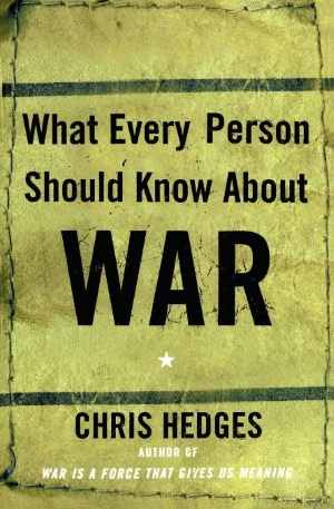 Textbook pdf download What Every Person Should Know About War by Chris  Hedges  9780743255127