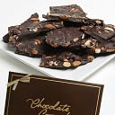 Dark Chocolate Almond Bark, 2 lbs. by Golden Edibles: Product Image