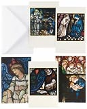 Stained Glass Windows Christmas Boxed Card by Museums & Galleries: Product Image