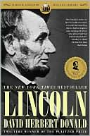 Lincoln by David Herbert Donald: Book Cover