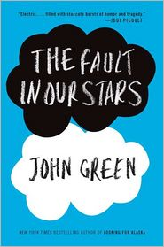 The Fault in Our Stars by John Green: Book Cover