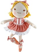 Good Earth Girl Ballerina 5.5 inch Plush by Hosung NY Inc.: Product Image