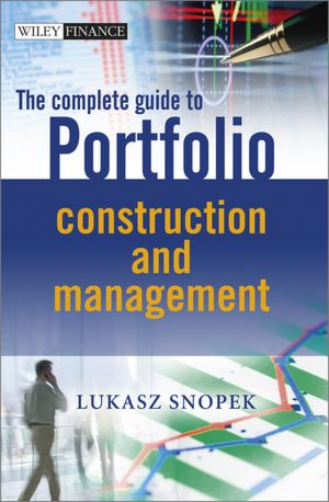 Mon premier blog the complete guide to portfolio construction and management fandeluxe Images