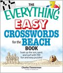 The Everything Easy Crosswords for the Beach by Charles Timmerman: Book Cover