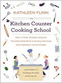 The Kitchen Counter Cooking School by Kathleen Flinn: Audio Book Cover
