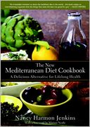 The New Mediterranean Diet Cookbook by Nancy Harmon Jenkins: NOOK Book Cover