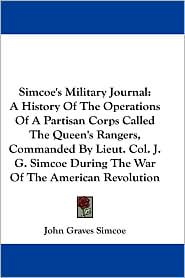 BARNES & NOBLE | Simcoe's Military Journal by John Graves Simcoe ...