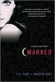 Marked (House of Night Series #1) by P. C. Cast: Book Cover