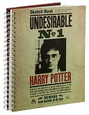 Harry Potter ''Undesirable'' Sketchbook 9.25 x 11 by MeadWestvaco: Product Image