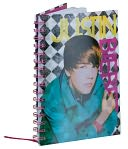 Justin Bieber Lenticular Lined Wire-o Journal 6.5 x 8.5 by MeadWestvaco: Product Image