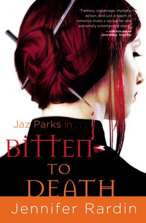 Bitten to Death jennifer rardin
