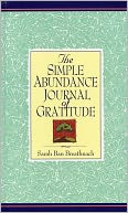 Simple Abundance Journal of Gratitude by Sarah Ban Breathnach: Book Cover