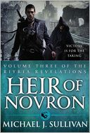Heir of Novron by Michael J. Sullivan: Book Cover