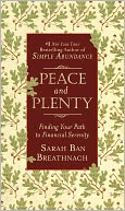 Peace and Plenty by Sarah Ban Breathnach: Book Cover