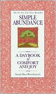 Simple Abundance by Sarah Ban Breathnach: Book Cover
